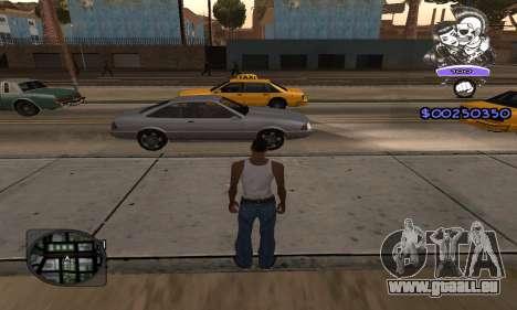 C-HUD Skillet pour GTA San Andreas deuxième écran