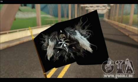 Flag Black Skul für GTA San Andreas