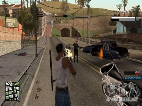 Simple C-HUD pour GTA San Andreas deuxième écran