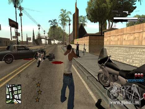 Simple C-HUD für GTA San Andreas dritten Screenshot