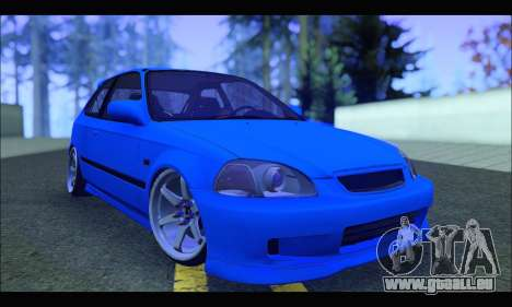 Honda Civic HB (BLG) für GTA San Andreas