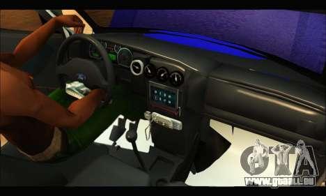 Ford Ranger 2011 Policia Bonaerense pour GTA San Andreas vue arrière