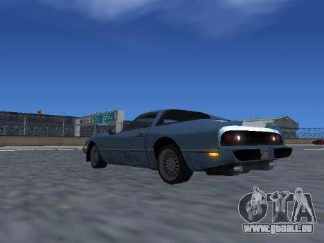 New Phoenix pour GTA San Andreas roue