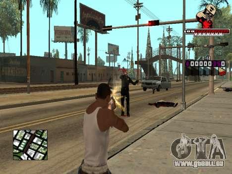 C-HUD SWAG pour GTA San Andreas quatrième écran