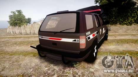 Chevrolet Blazer 2010 Rota Comando [ELS] für GTA 4 hinten links Ansicht