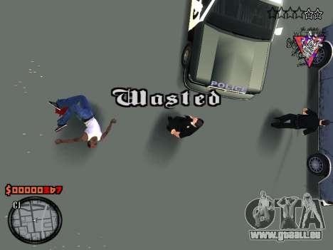 C-HUD Style für GTA San Andreas fünften Screenshot