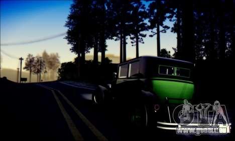 Albany Roosevelt (GTA V) pour GTA San Andreas vue de droite
