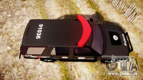 Chevrolet Blazer 2010 Rota Comando [ELS] für GTA 4 rechte Ansicht