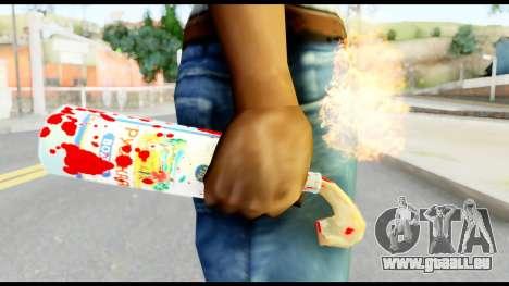 Molotov Cocktail with Blood pour GTA San Andreas troisième écran