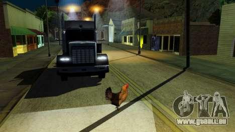 La possibilité de GTA V à jouer pour les animaux pour GTA San Andreas douzième écran