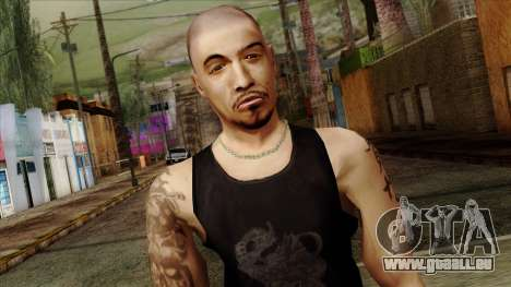 GTA 4 Skin 66 pour GTA San Andreas troisième écran