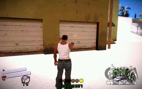 C-HUD v4.0 für GTA San Andreas