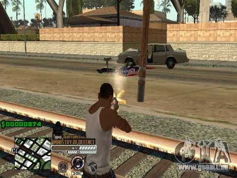 C-HUD Air Force für GTA San Andreas