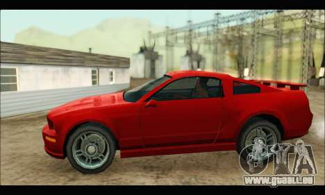 New Buffalo für GTA San Andreas linke Ansicht