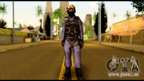 Counter Strike Skin 5 für GTA San Andreas