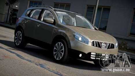 Nissan Qashqai 2011 für GTA 4 rechte Ansicht
