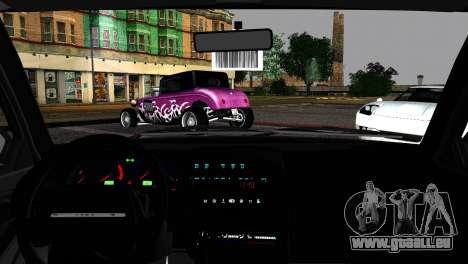 Lada 21099 Rat Look für GTA San Andreas zurück linke Ansicht