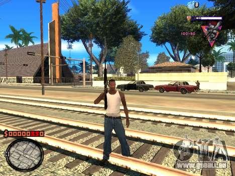 C-HUD Style für GTA San Andreas