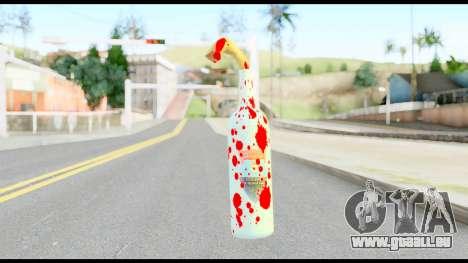 Molotov Cocktail with Blood pour GTA San Andreas deuxième écran