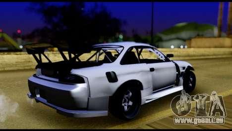 Nissan Silvia S14 DC Hunter für GTA San Andreas linke Ansicht
