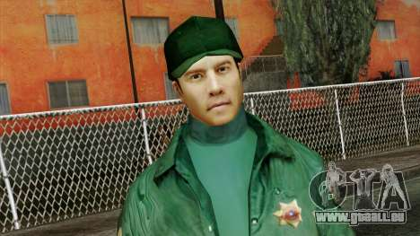 Police Skin 1 pour GTA San Andreas troisième écran
