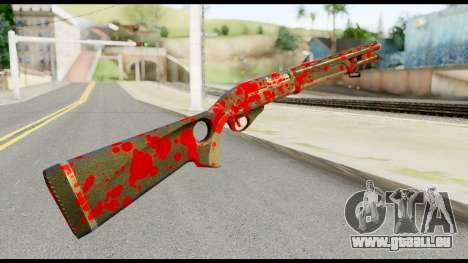 Combat Shotgun with Blood für GTA San Andreas zweiten Screenshot