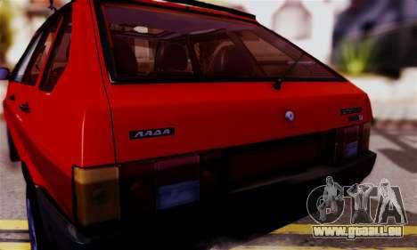 Lada 2109 pour GTA San Andreas vue de droite