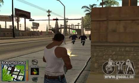 С-HUD RastaMan pour GTA San Andreas