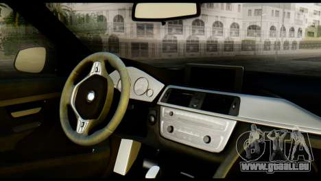BMW 3 Touring F31 2013 1.0 pour GTA San Andreas sur la vue arrière gauche