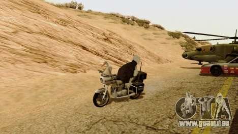Die Möglichkeit von GTA V spielen für Tiere für GTA San Andreas dritten Screenshot