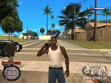 C-HUD Style für GTA San Andreas zweiten Screenshot