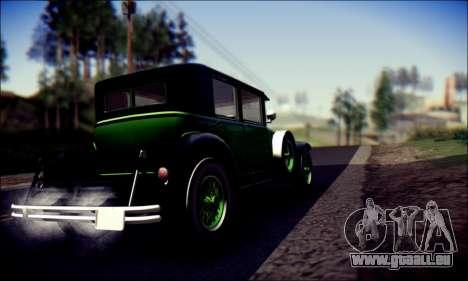 Albany Roosevelt (GTA V) für GTA San Andreas Rückansicht
