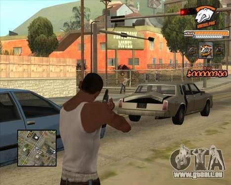 C-HUD Virtus Pro pour GTA San Andreas
