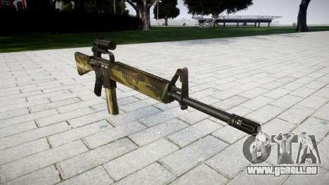 Die M16A2 Gewehr [optisch] flora für GTA 4
