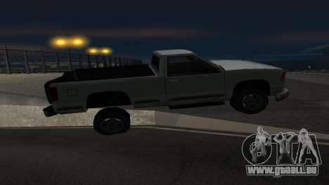La nouvelle physique des machines pour GTA San Andreas troisième écran
