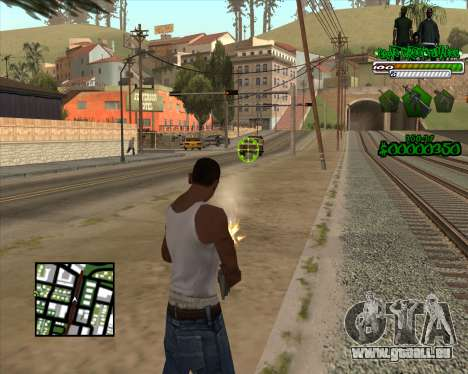 C-HUD for Groove für GTA San Andreas