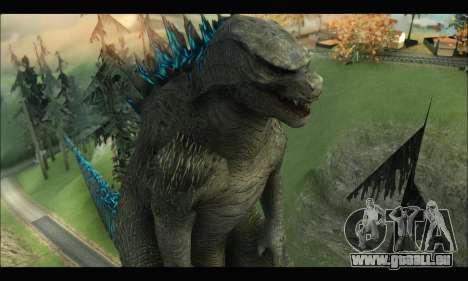 Godzilla 2014 pour GTA San Andreas cinquième écran