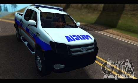 Ford Ranger P.B.A 2015 Text2 für GTA San Andreas