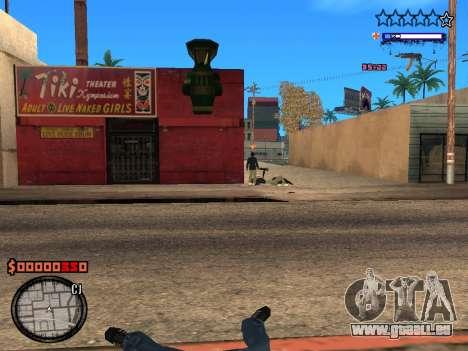 C-HUD Style für GTA San Andreas her Screenshot