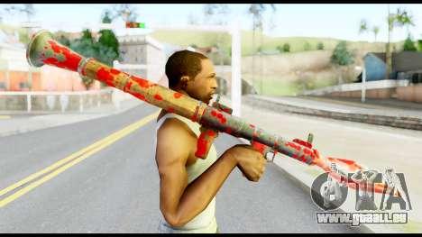 Rocket Launcher with Blood für GTA San Andreas dritten Screenshot