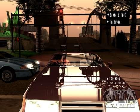 Artificielle ENB pour de faibles PC pour GTA San Andreas quatrième écran