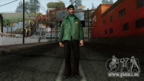 Police Skin 2 für GTA San Andreas