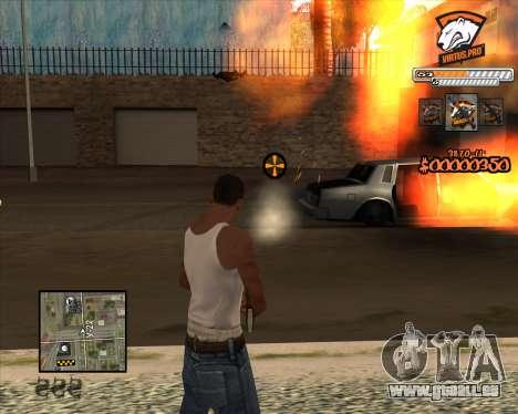 C-HUD Virtus Pro pour GTA San Andreas troisième écran