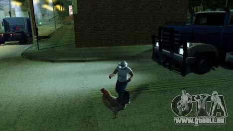 La possibilité de GTA V à jouer pour les animaux pour GTA San Andreas