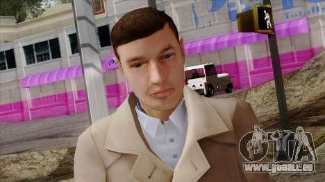 GTA 4 Skin 89 pour GTA San Andreas troisième écran