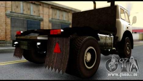 MAZ 504 pour GTA San Andreas laissé vue