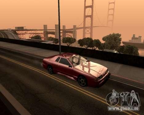 Artificielle ENB pour de faibles PC pour GTA San Andreas troisième écran