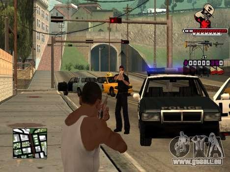 C-HUD SWAG pour GTA San Andreas cinquième écran