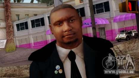 GTA 4 Skin 34 pour GTA San Andreas troisième écran
