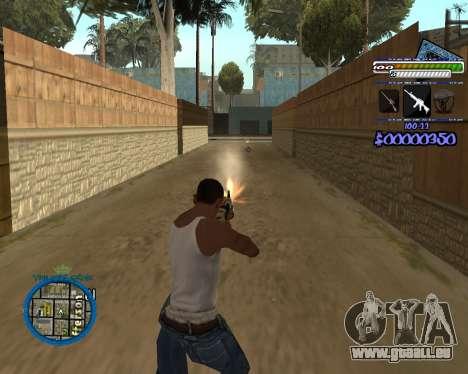 C-HUD by Rifa für GTA San Andreas her Screenshot